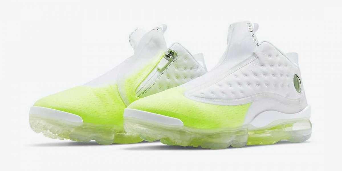 2020 Air Jordan Reign White Volt Sneakers DB0815-107