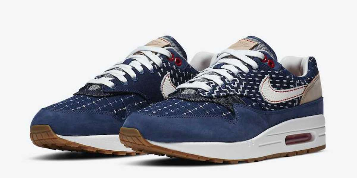 CW7603-400 DENHAM x Nike Air Max 1 Release Date: September 18, 2020