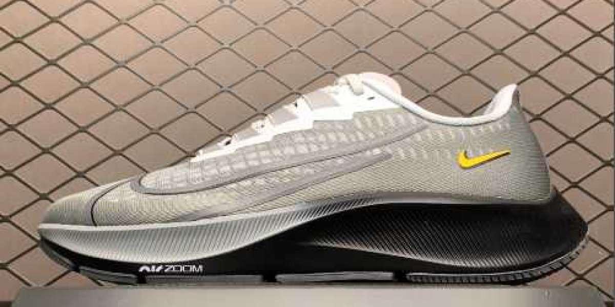 Newest Nike Air Zoom Pegasus 37 Grey Black For Buy DA4662-001