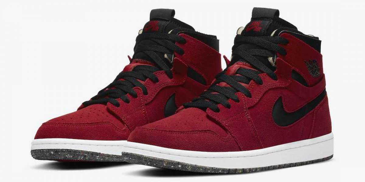 "Brand New Nike Air Jordan 1 High Zoom ""Red Suede"" CT0978-600 Release Date"
