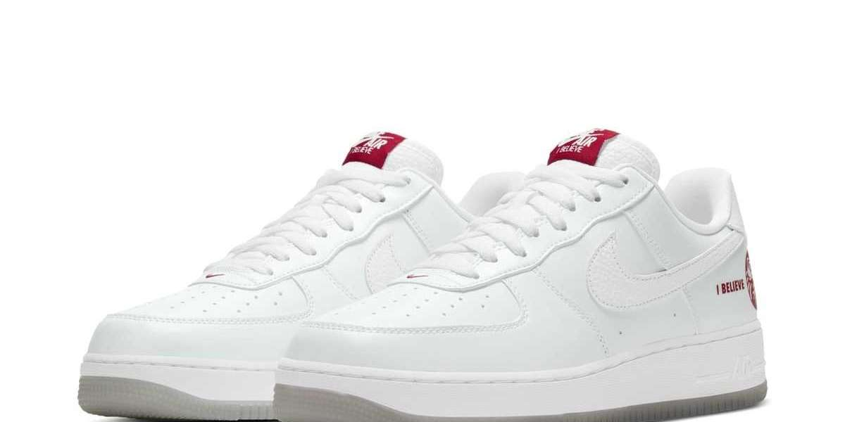 "Hot Sale Nike Air Force 1 ""I Believe"" 624040-116 Sneakers"