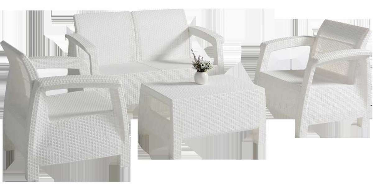 Outdoor Rattan Set is Getting Closer to People's Lives