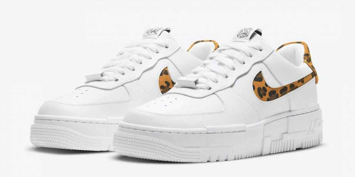 "New 2020 Nike Air Force 1 Low Pixel ""Leopard"" CV8481-100"
