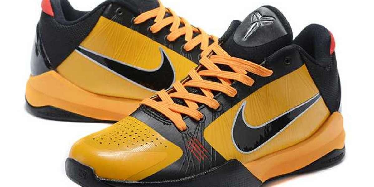 """Nike Kobe 5 Protro """"Bruce Lee"""" Del Sol/Metallic Silver-Comet Red-Black 2020 CD4991-700 For Sale"""